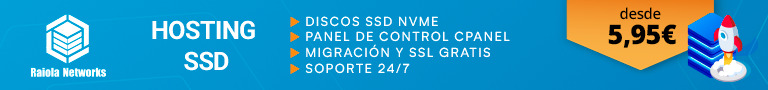Hosting SSD con Raiola
