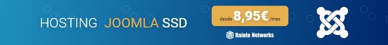 Hosting Joomla SSD