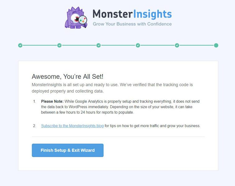 monsterinsights-instalado