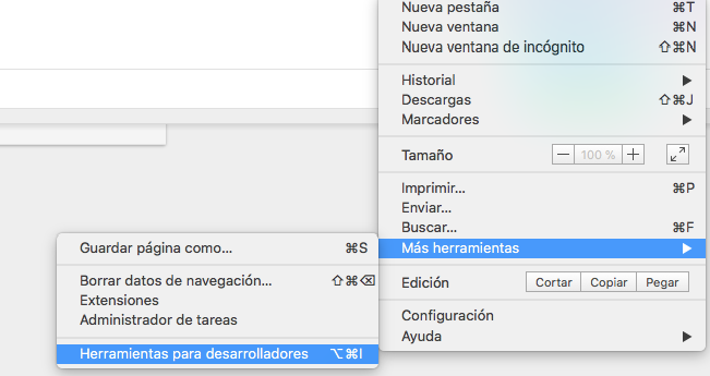 Devtools chrome