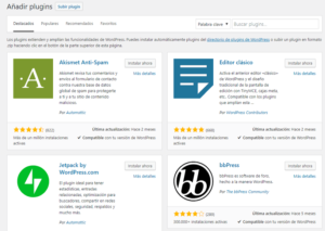 Blogger o WordPress - Plugins WordPress