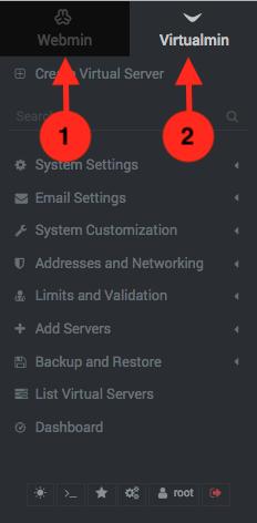 Como acceder a Virtualmin