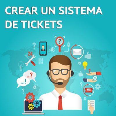 sistema de gestión de tickets