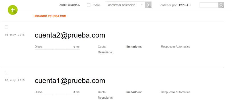 Gestionar dominios de correo en VestaCP 3