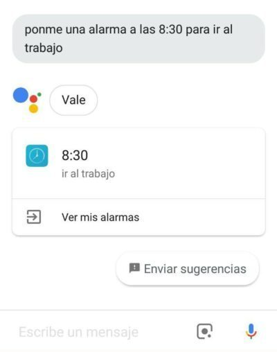 Google asistente
