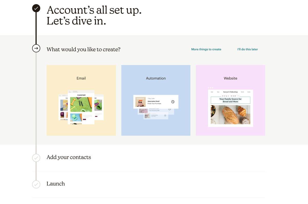 Aceptar registro en mailchimp