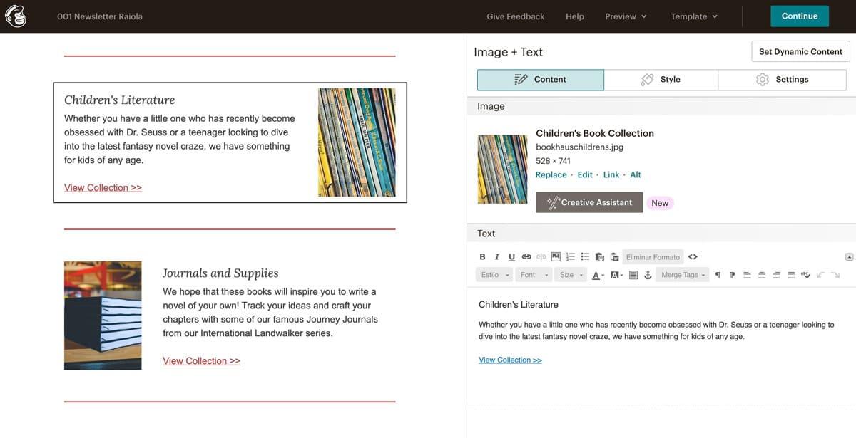 Diseña tu propia newsletter