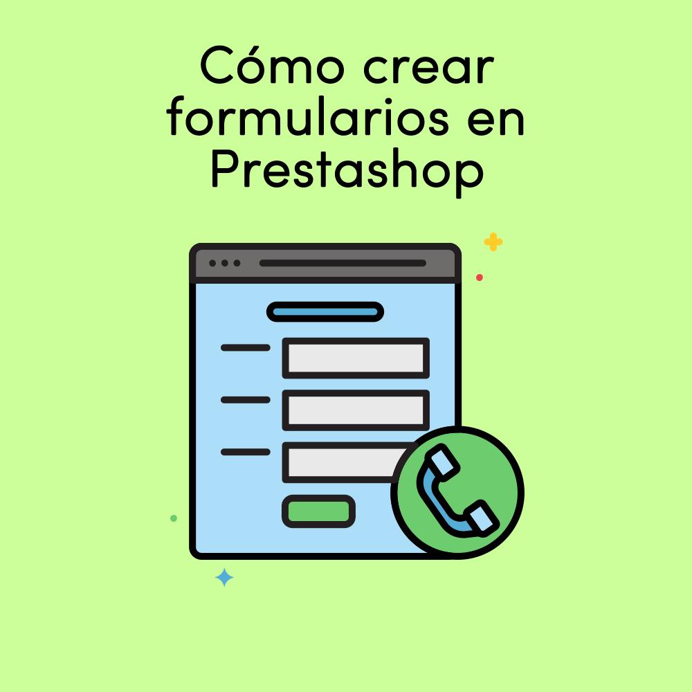 cómo crear formularios en prestashop