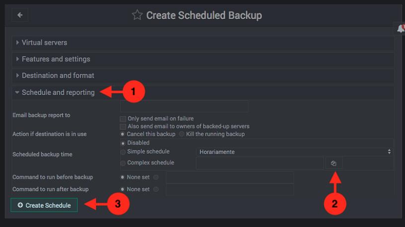 como hacer copias de seguridad programadas en virtualmin - paso 2