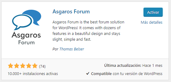 crear foro wordpress