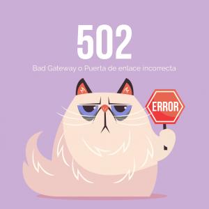 error 502 bad gateway