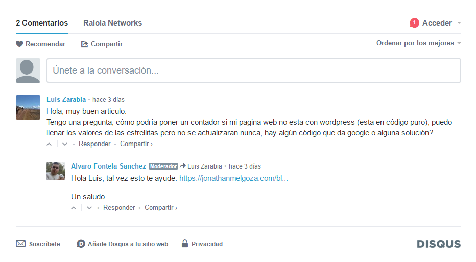 wordpress novatos