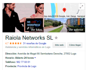 google my business ficha de negocio