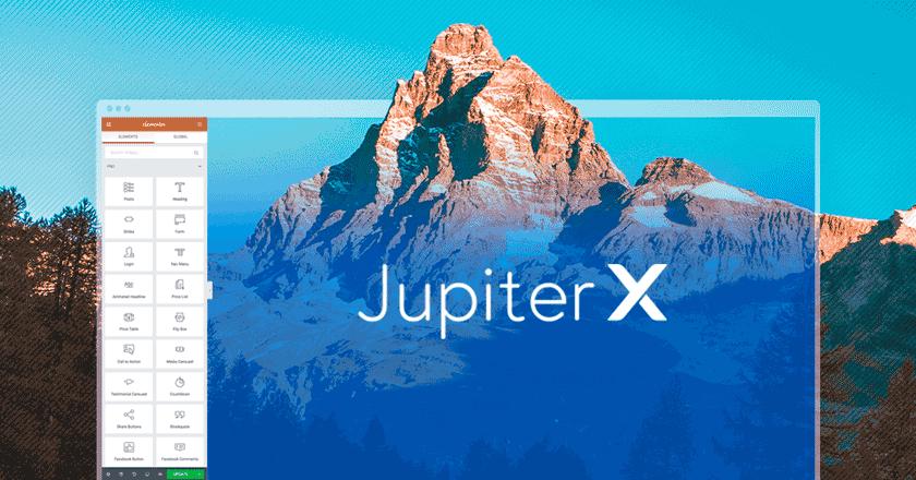 Jupiter X: Plantilla multipropósito para WordPress 2