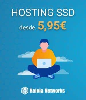 Hosting SSD localizado en España
