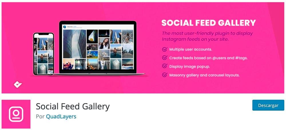 Social Feed Gallery