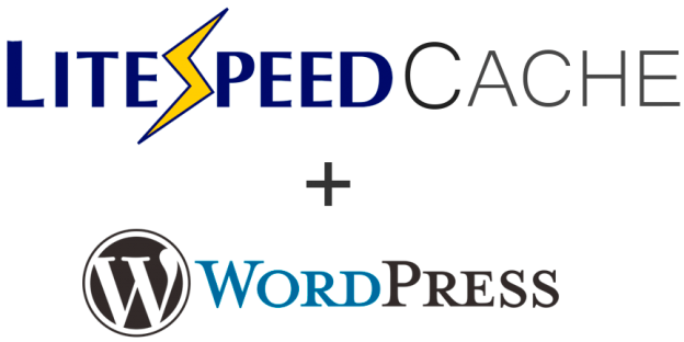 Logo WordPress + Litespeed Cache