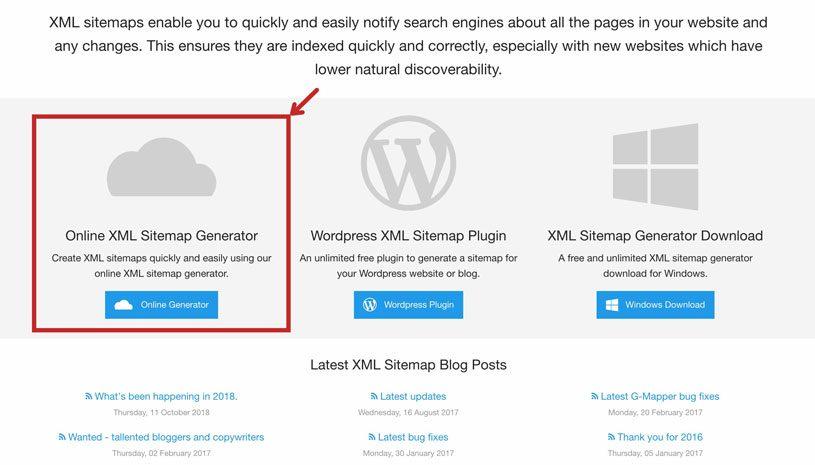 Sitemap Generator cloud